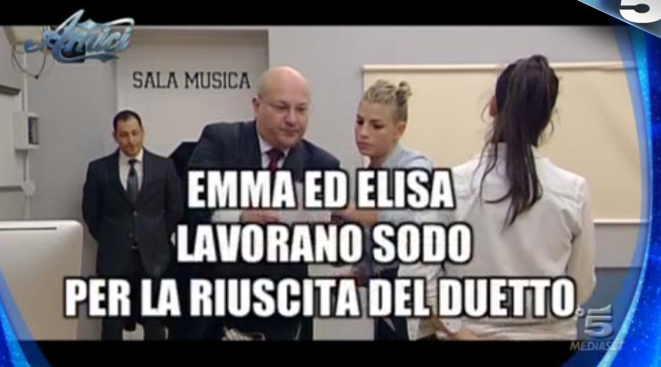 Amici 15, lo scherzo fatto ad Emma ed Elisa