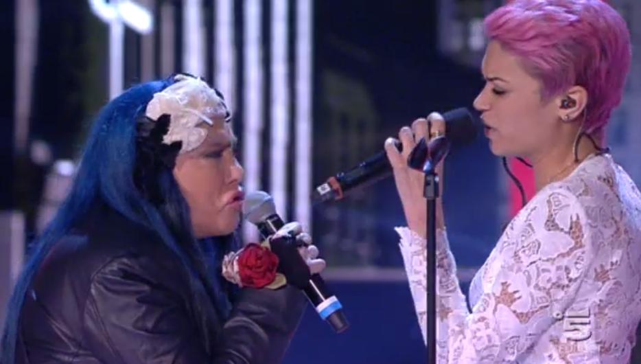 Amici, Loredana Bertè duetta con Elodie
