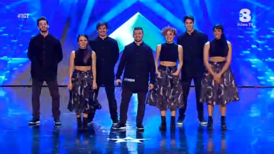 BlakSouls Dance Crew a Italia's got talent 2016