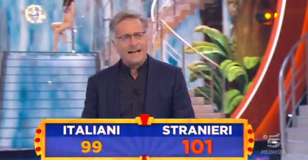 Ciao Darwin, Italiani vs Stranieri