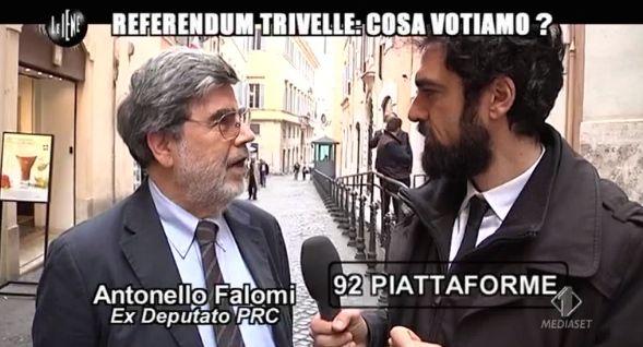 Dino Giarrusso referendum trivelle