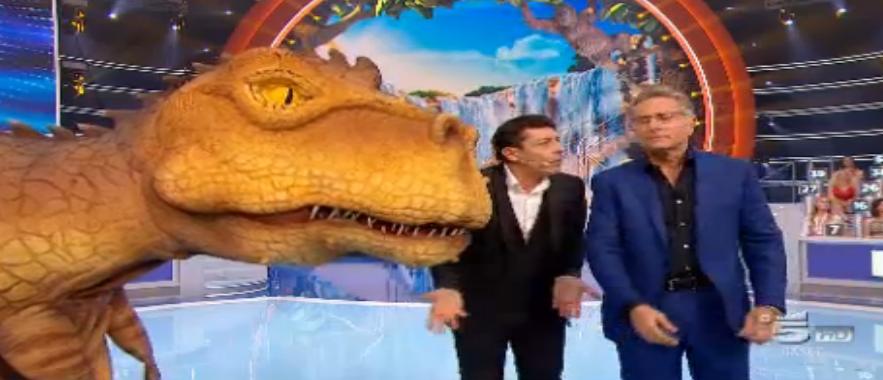 Dinosauro a Ciao Darwin 2016