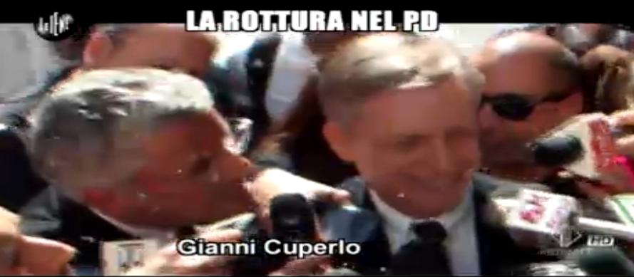 Enrico  Lucci, La Rottura nel PD