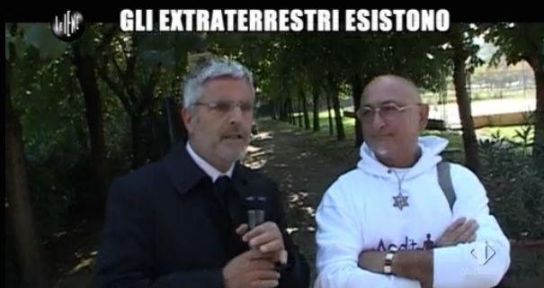 Enrico Lucci e i raeliani