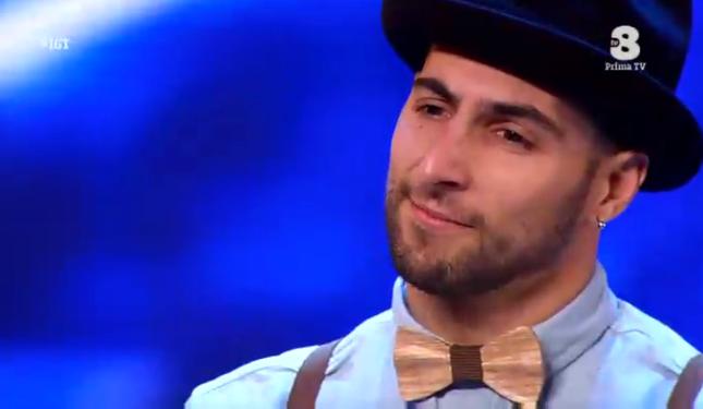 Giuseppe 'Katcyo' a Italia's got talent 2016