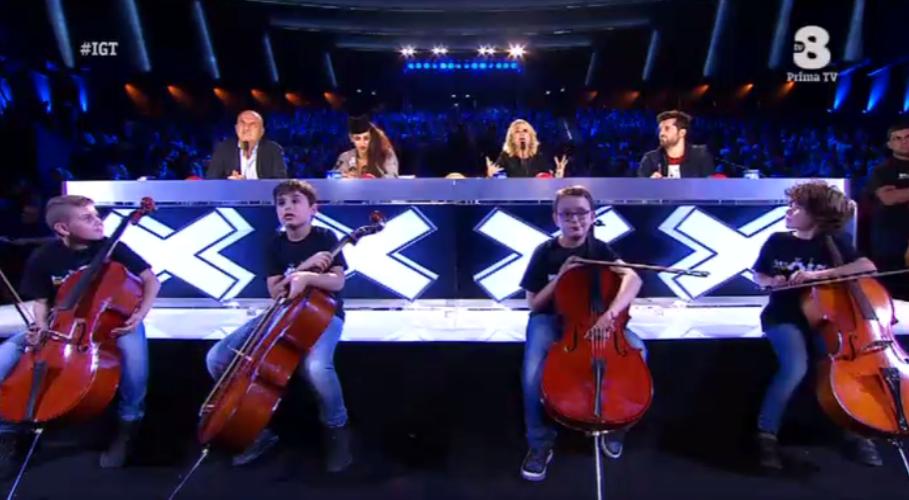 I 100 Cellos a Italia's got talent 2016