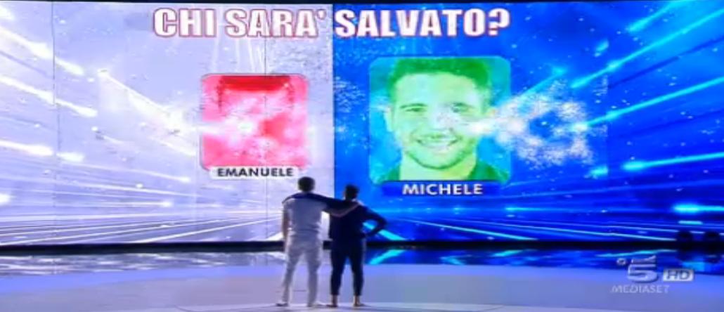 I prof. salvano Michele, fuori Emanuele