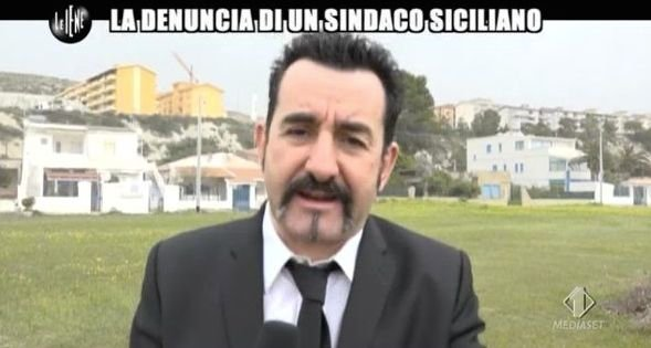Luigi Pelazza in Sicilia
