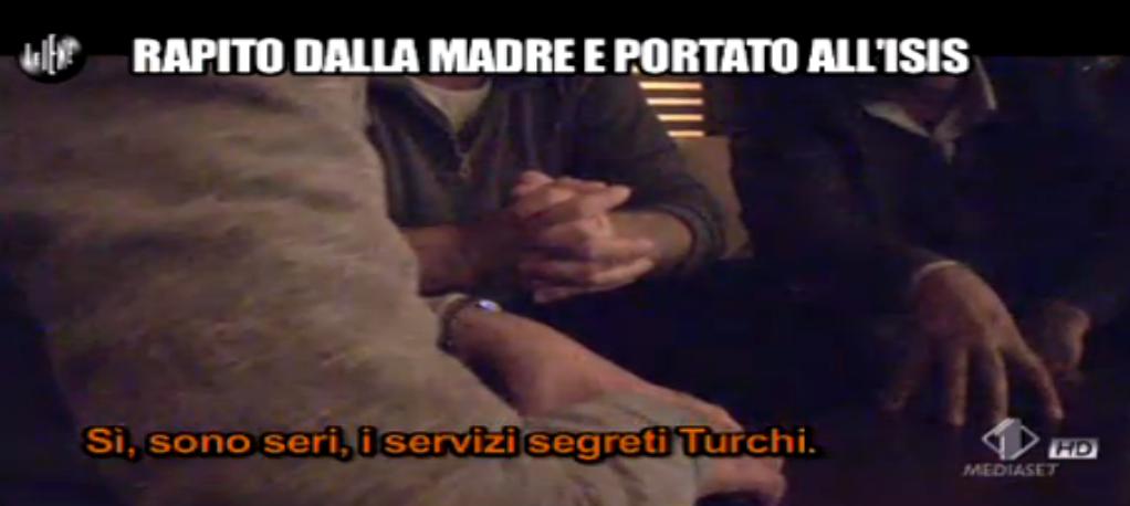 Luigi Pelazza insieme a mediatore dei servizi segreti turchi