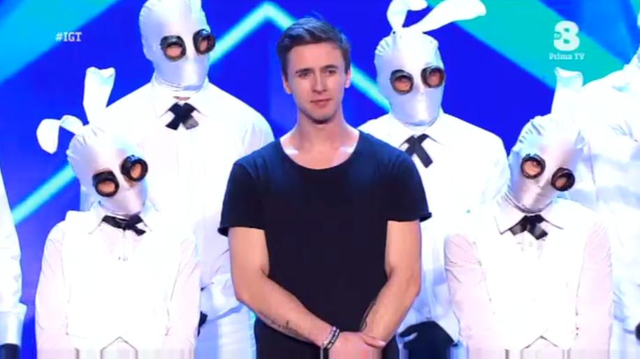 Mad Bunnies ballerini conigli a Italia's got talent 2016