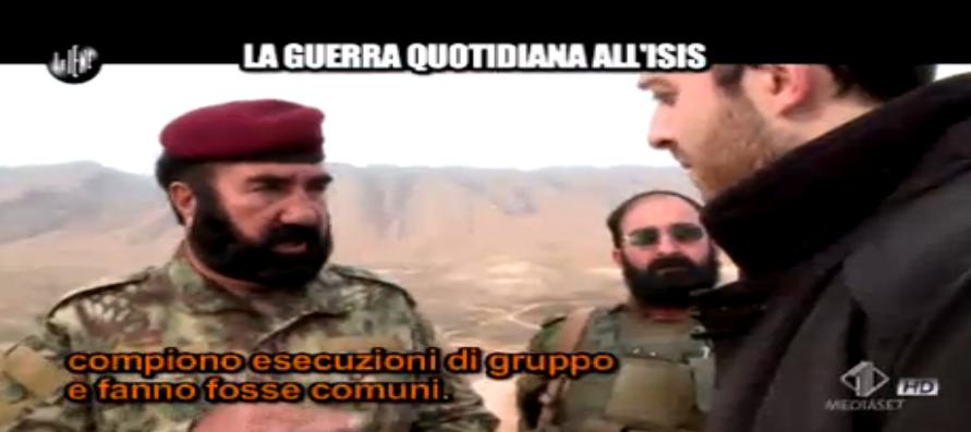 Marco Maisano racconta la guerra contro l'Isis