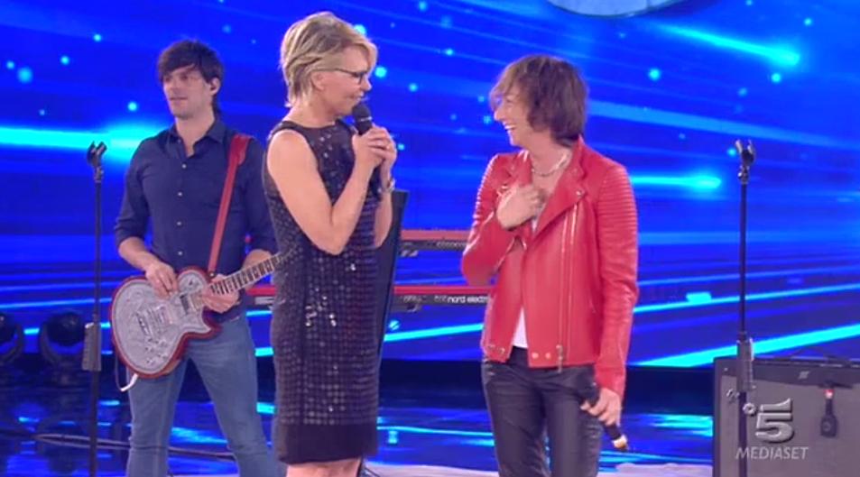 Maria De Filippi ospita Gianna Nannini