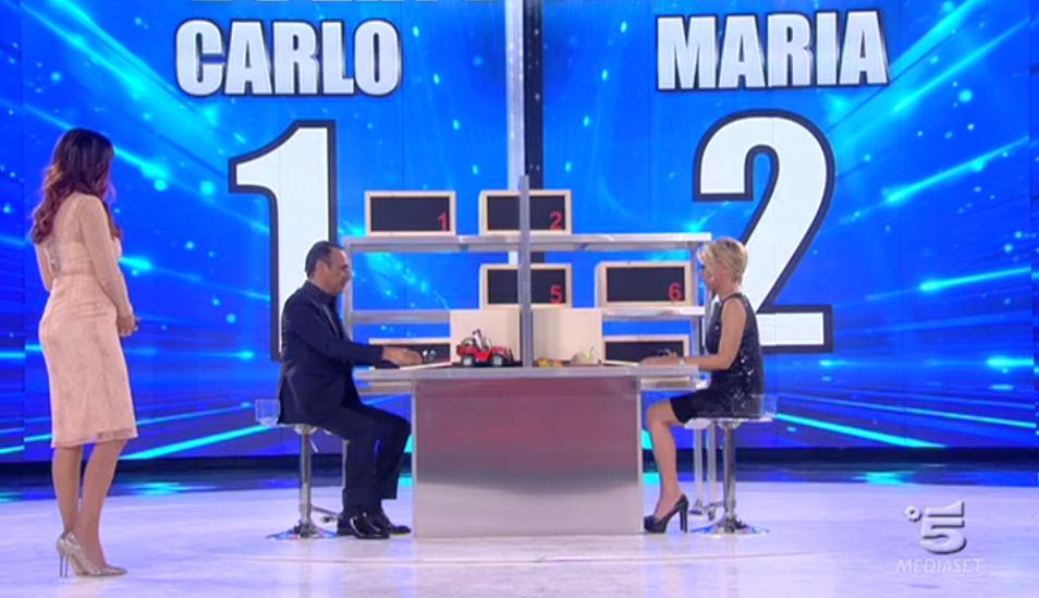 Maria De Filippi vince contro Carlo Conti, Amici 15