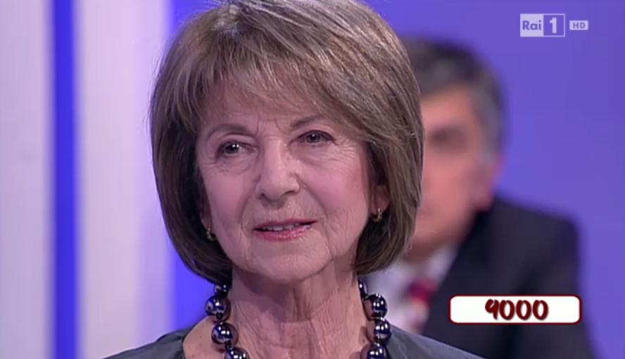 Maria Luisa Migliari torna a giocare al Rischiatutto