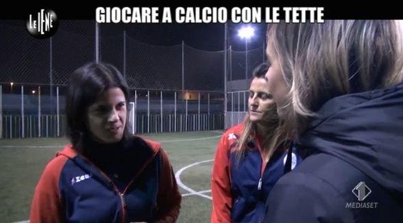 Nadia Toffa calcio famminile