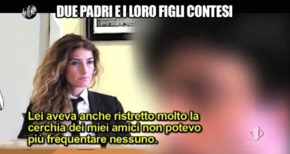 Nina Palmieri servizio padri e figli contesi