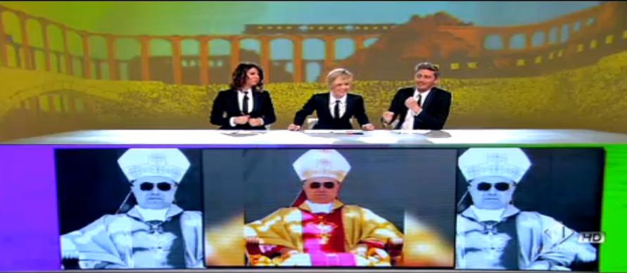 Pif ironizza sul cardinal Bertone