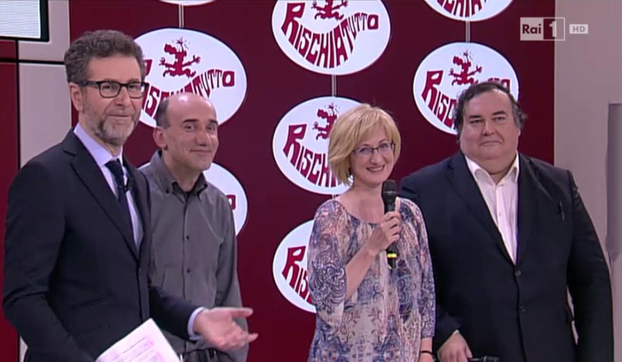 Primi 3 concorrenti ufficiali di Rischiatutto 2016