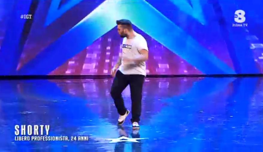 Shorty balla a Italia's got talent 2016