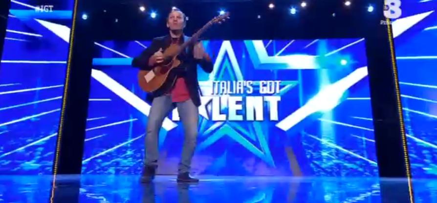 Walter Tessaris a Italia's got talent 2016
