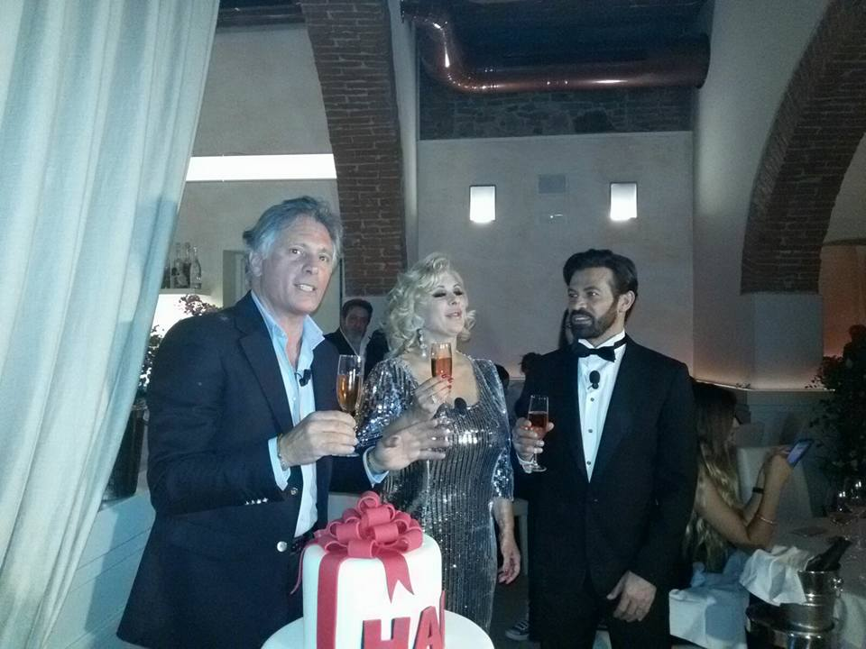 Giorgio Manetti, compleanno con Tina Cipollari e Gianni Sperti