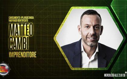"""Matteo Cambi a Televisionando: """"A L'Isola mi sono sentito umiliato. Faccio il tifo per Giacobbe Fragomeni"""" [INTERVISTA]"""
