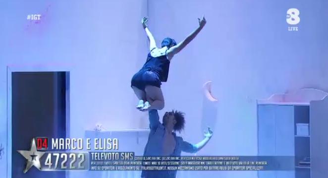 18 Marco ed Elisa 'ubriachi d'amore' a Italia's got talent 2016