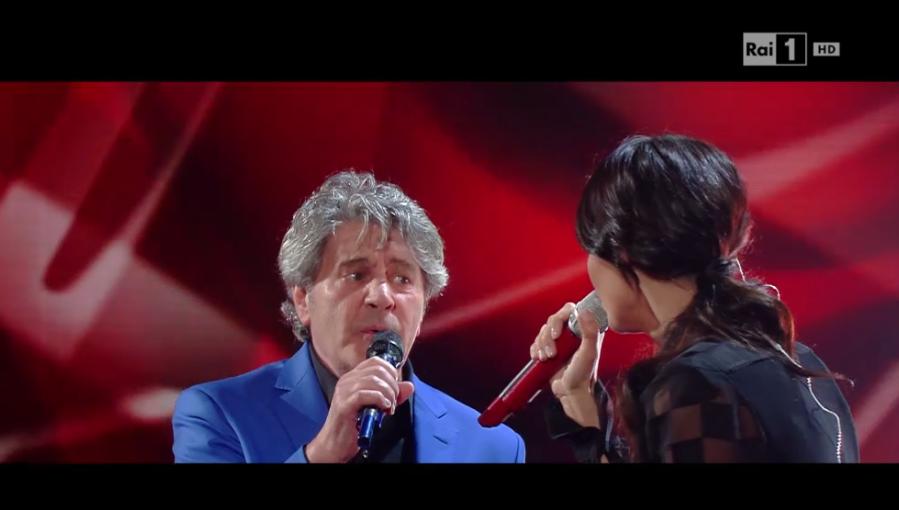 21 Fausto Leali e Anna Tatangelo duettano a I migliori anni 2016