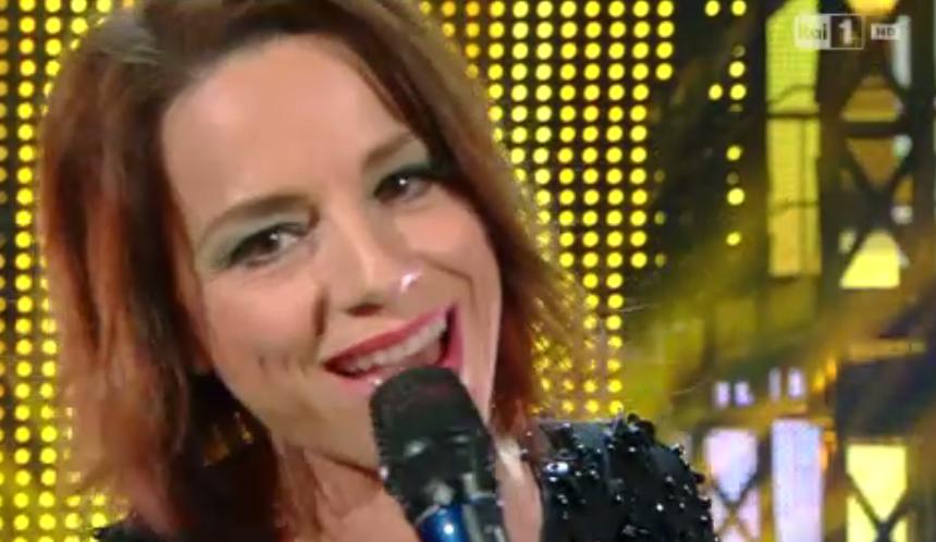23 Valeria Rossi ospite de I Migliori Anni, Tre parole 'Sole cuore amore'