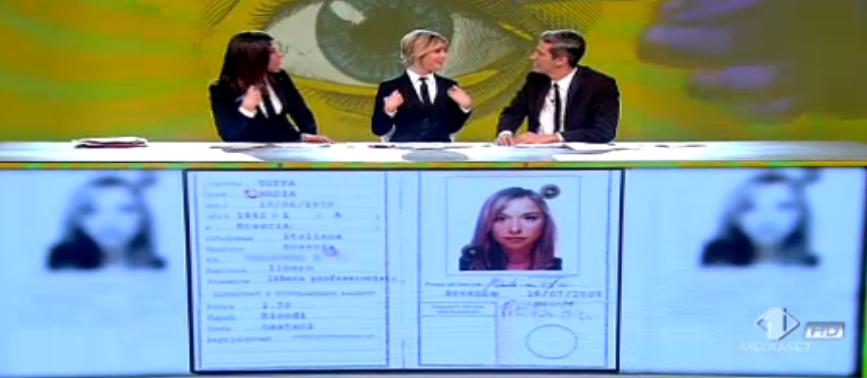 26 Le Iene, carta d'identità di Nadia Toffa