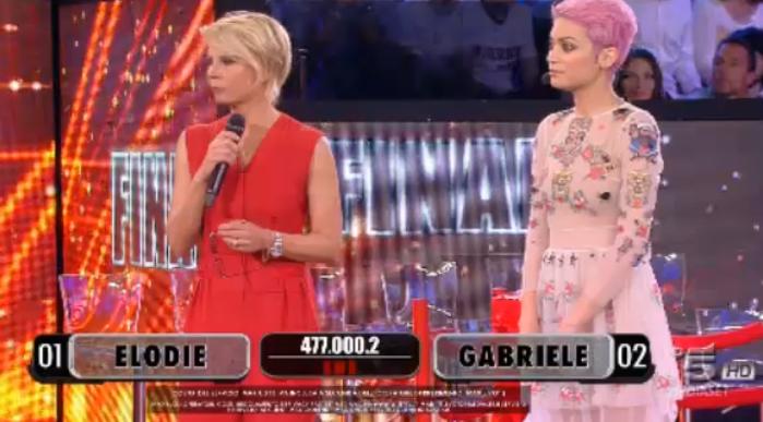 33 Elodie vs Gabriele, seconda sfida finale Amici 15