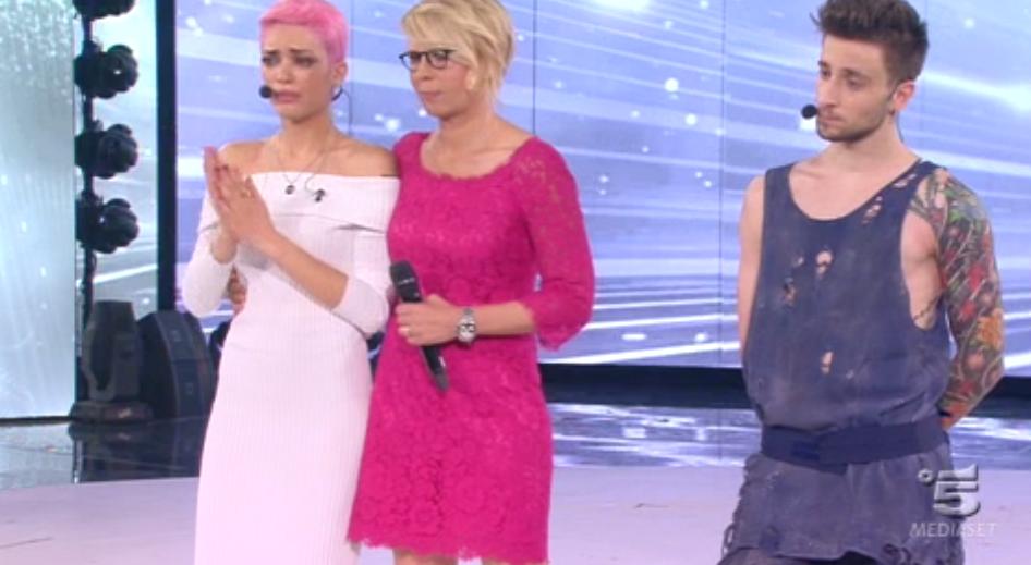 45 Elodie piange per le parole di Loredana Bertè su Mia Martini
