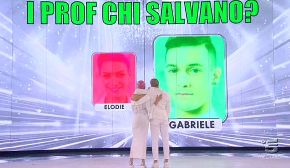 46 Elodie al ballottaggio contro Chiara