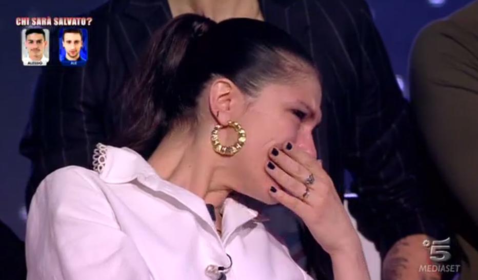 Elisa piange ad Amici