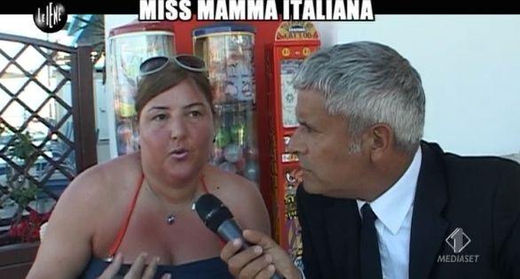 Enrico Lucci Miss mamma italiana