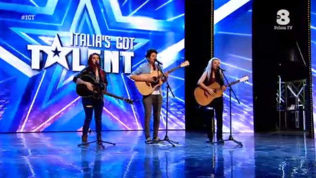 Erin Mellon Trio a Italia's got talent 2016