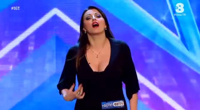 Gabriella Zanchi comica cantante lirica