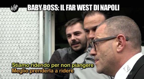Giulio Golia baby boss Napoli