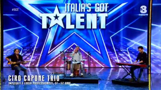 L'omaggio di Italia's got talent a Pino Daniele