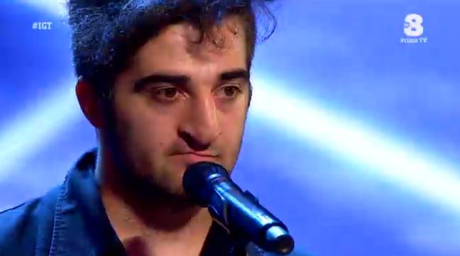 Simone Tomei canta a Italia's got talent e la giuria si divide
