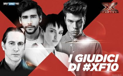 X Factor 2016, giudici: Fedez, Arisa, Manuel Agnelli e Alvaro Soler