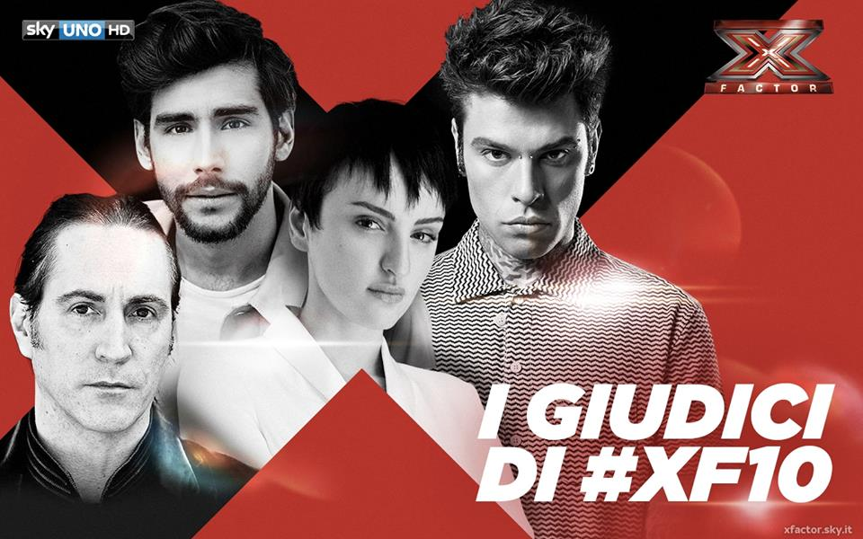 X Factor 10 giudici