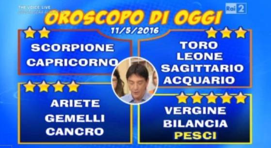 oroscopo 11 05 2016