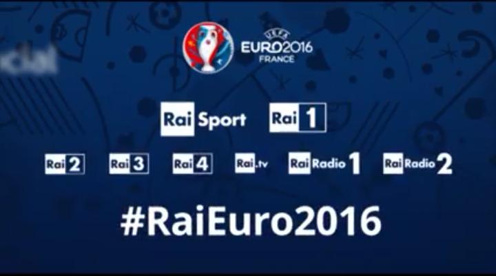 Europei 2016, il palinsesto Rai: conduttori e programmi tv