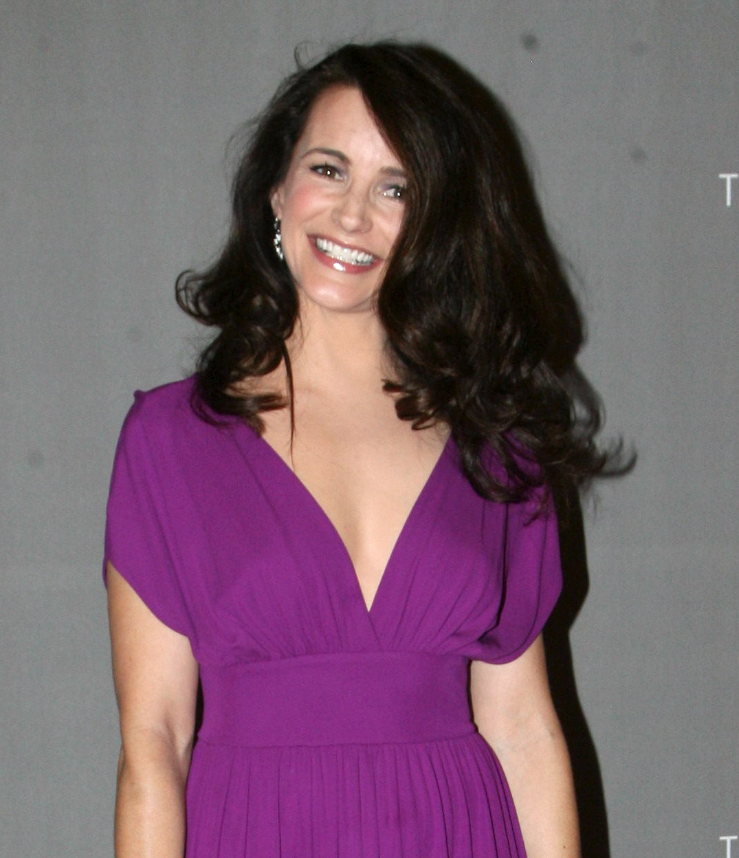 Kristin Davis attends The Cosmopolitan And Marquee Nightclub Celebrate New Year's Eve