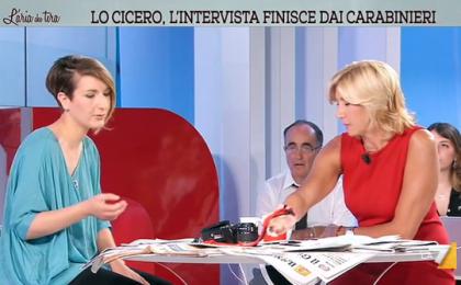 L'Aria che tira, Myrta Merlino vs Andrea Lo Cicero dopo la denuncia per aggressione: 'Facciamo TV, non processi'