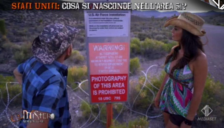 17 Bossari Torrisi nell'Area 51, spari se oltrepassano il cartello