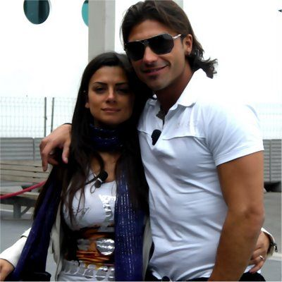 Giuseppe Conversano e Serena Enardu