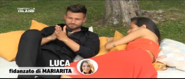 Luca e la single Irene