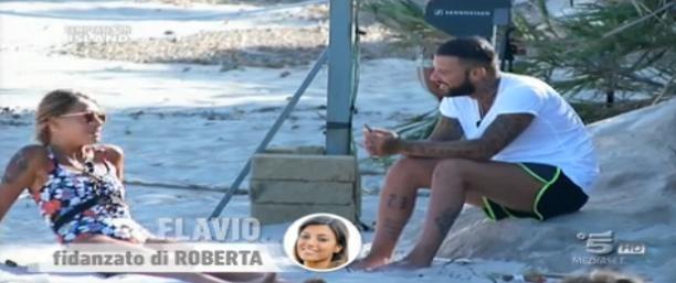Seconda puntata, Flavio e la single Diana